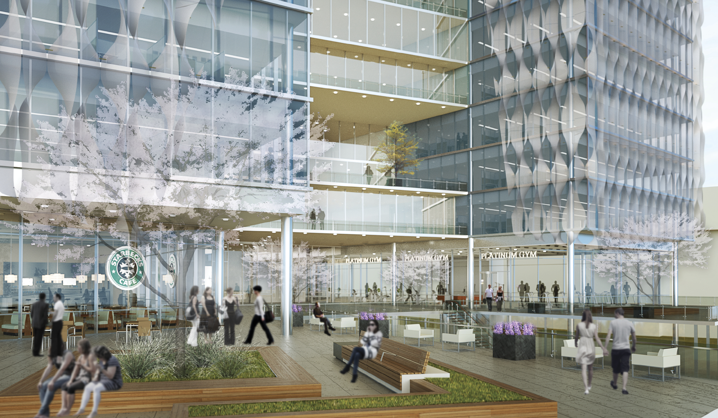 office building of the future rendering