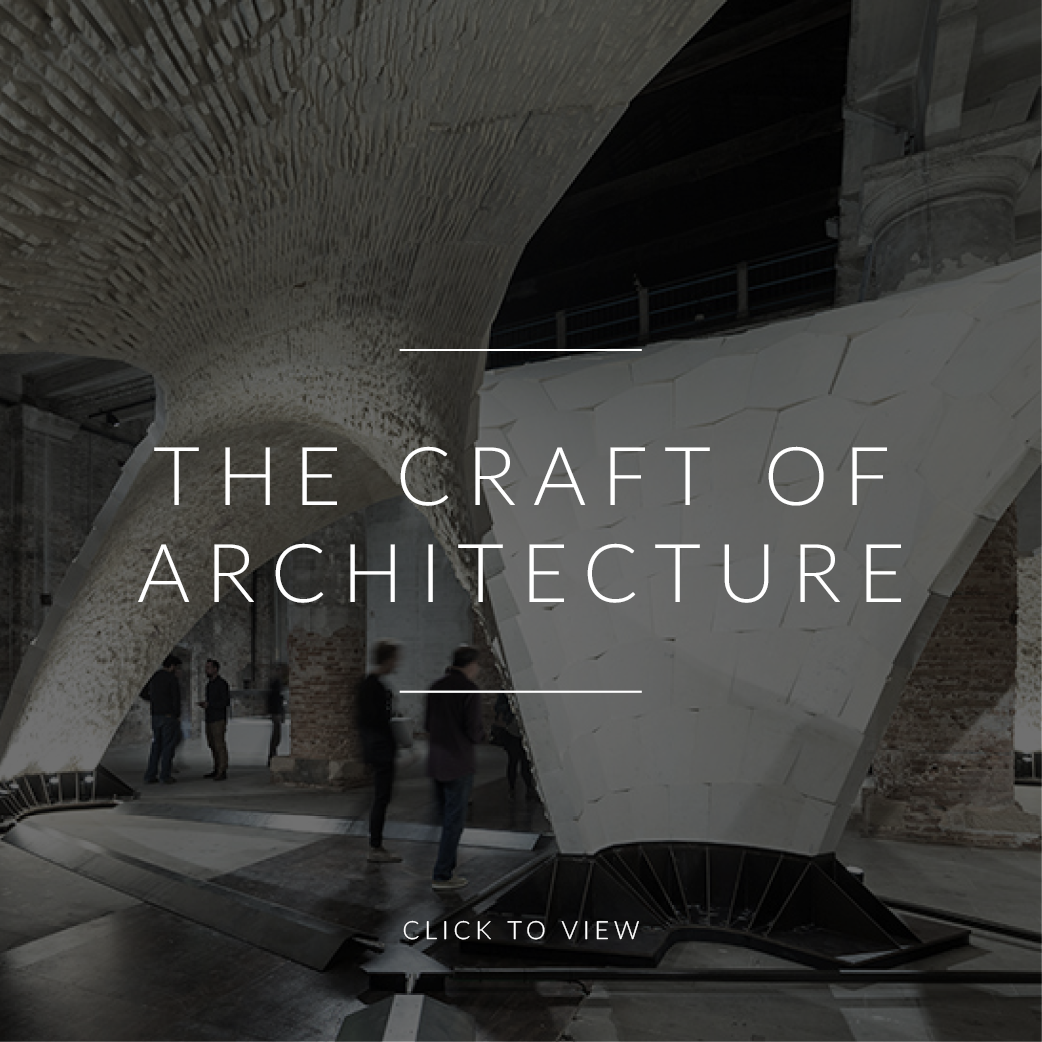 The Craft of Architecture