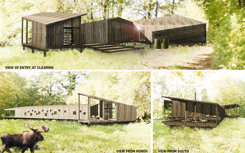 Maine mass timber concept