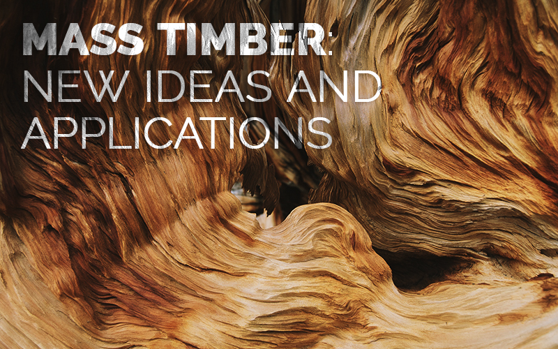 mass timber: new ideas and applications
